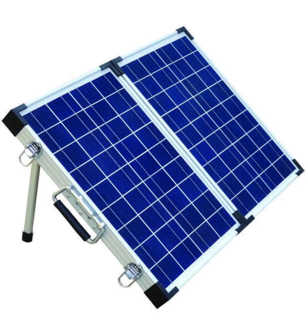 Brightsolar kannettava ja taitettava aurinkopaneeli