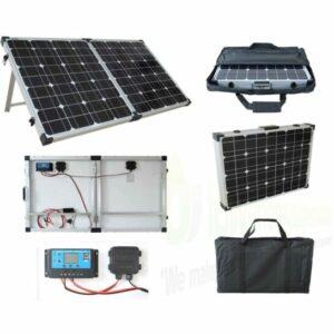 Brightsolar 200w kannettava ja taitettava aurinkopaneeli
