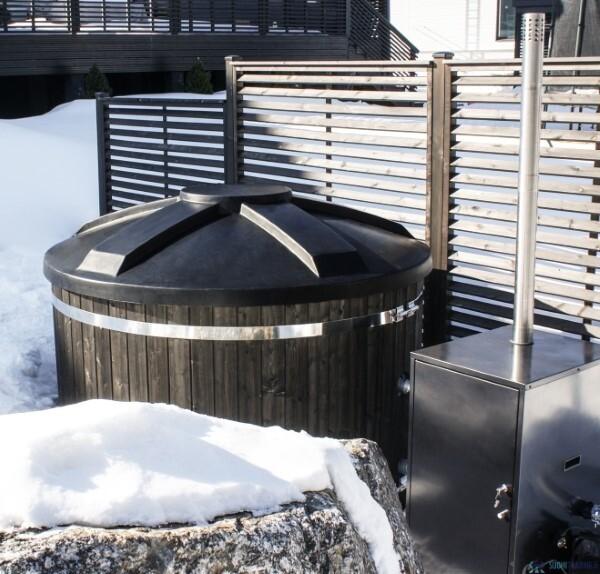 Hottia kylpytynnyri ja Hottia HT-20 Pro lämmitin